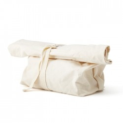 Reusable Bread Bag - tied up
