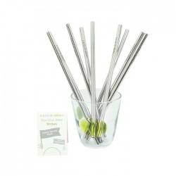 Stainless Steel Straws - Bulk Pack of 20