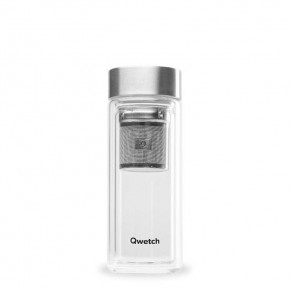 Double Walled Glass Infuse Flask - 320ml