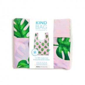 Medium Reusable Shopping Bag - Palms