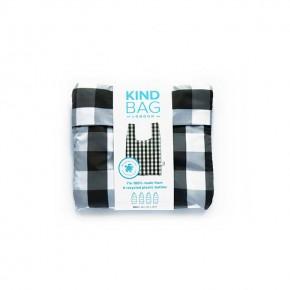 Mini Reusable Shopping Bag - Gingham