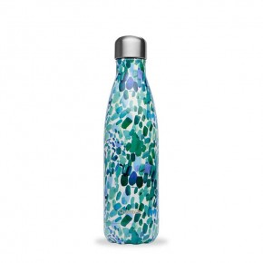Insulated Stainless Steel Bottle - Arty Blue - 500ml
