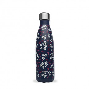 Insulated Stainless Steel Bottle - Hanami Blue - 500ml