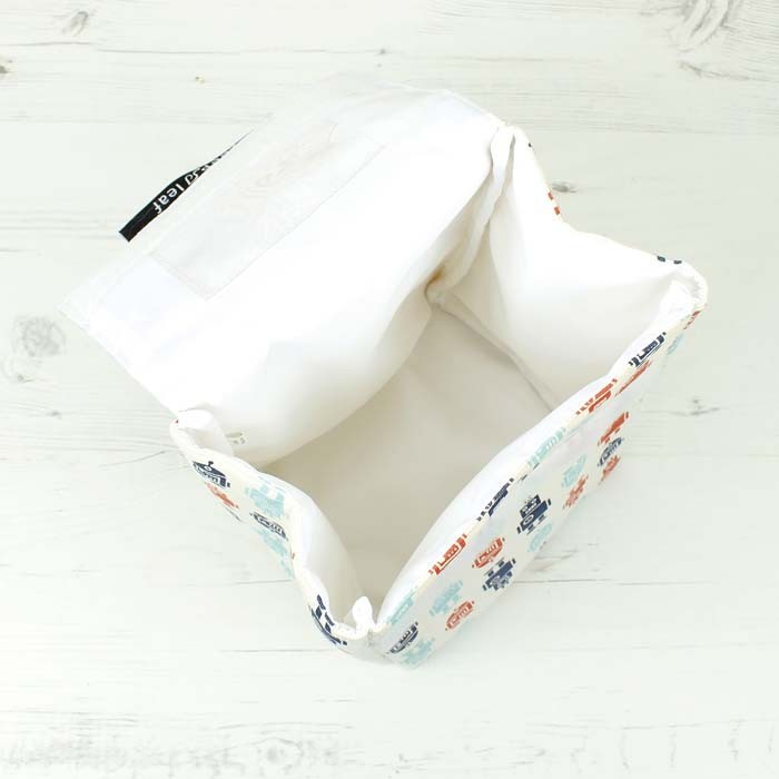 Insulated Lunch Bag - Open