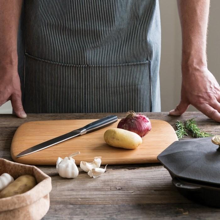 Classic Cutting & Serving Board - Medium in Use