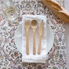 Knife, Fork & Spoon Set - In Use