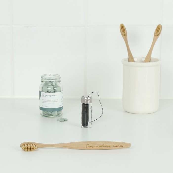 Bamboo 'Bamboo' Toothbrush with Bamboo Bristles (Extra Soft)