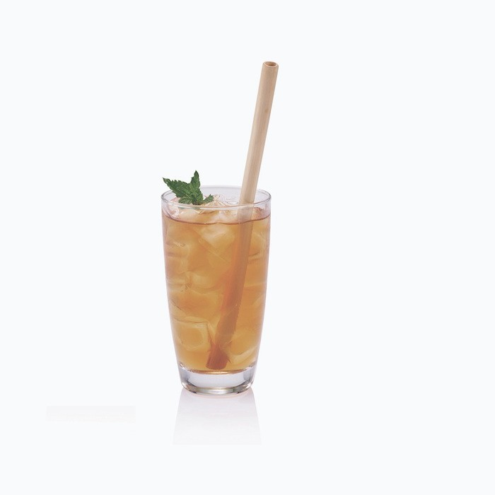 Bamboo Straw in drink