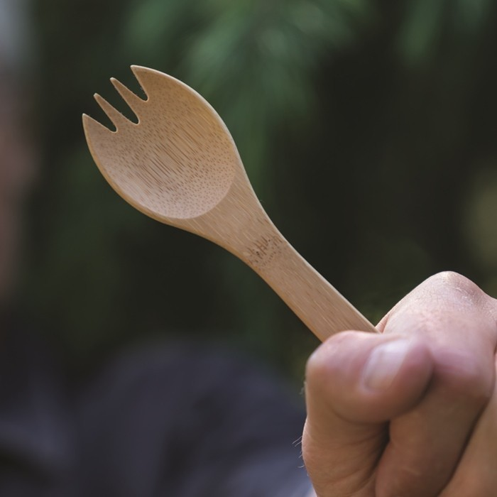 Large Spork Two.0 - in Use