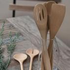 Organic Essentials Utensil Set - Set of 4 - in Use