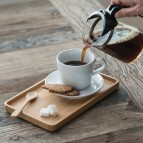 Serving Tray - Rectangle - in Use