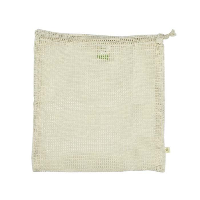 Organic Cotton Mesh Produce Bag - Large