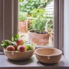Jute Bowl - Medium - Natural - in Use