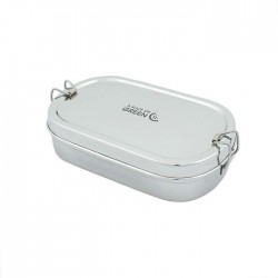 Oval Lunch Box with Mini Container