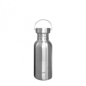 Plastic Free Single Wall Stainless Steel Bottle -  500ml