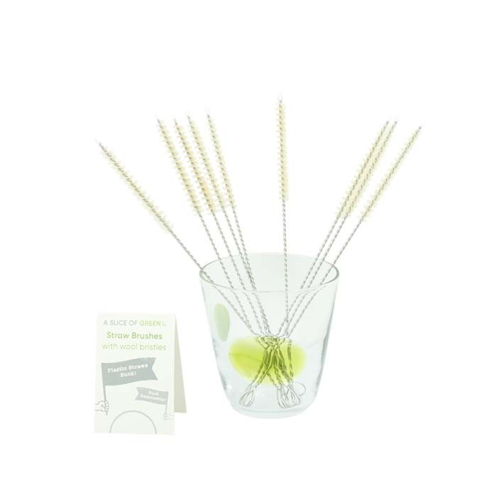 Straw Brushes - Bulk Pack of 20