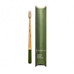 Truthbrush - Olive - Medium Castor Oil Bristles