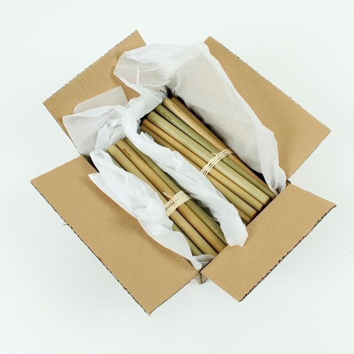 Bamboo Straws - Bulk - in packaging