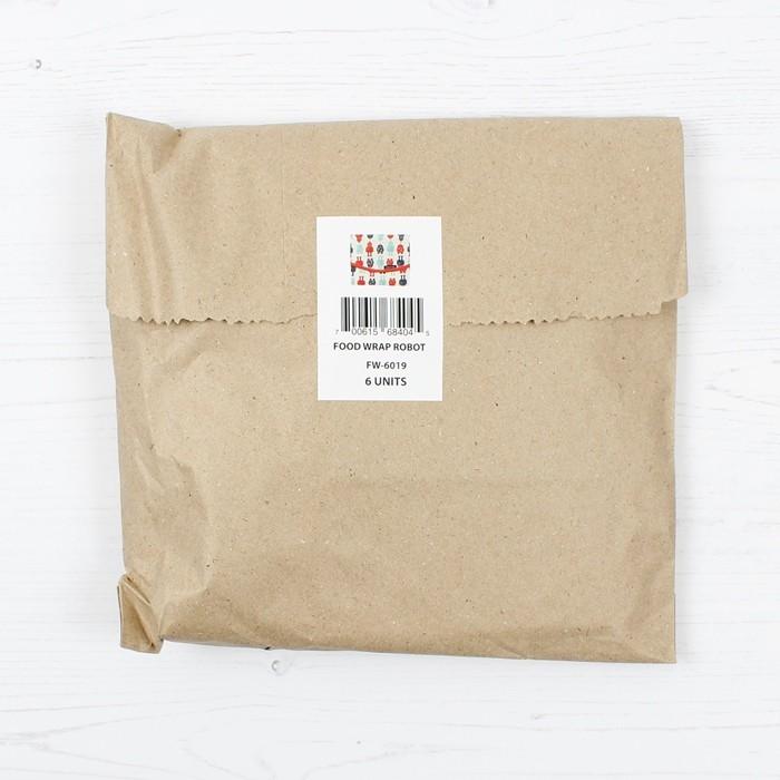 Sandwich/Food Wrap - in paper bag packaging