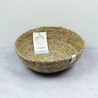 Seagrass Bowl - Medium - Natural - with packaging