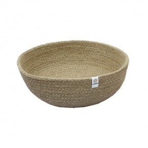 Jute Bowl - Large - Natural