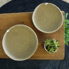 Jute Bowls - Medium & Large - Natural - from above