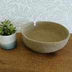 Jute Bowl - Large - Natural - in Use