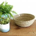 Seagrass Bowl - Large - Natural - in Use