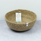 Seagrass Bowl - Large - Natural - with packaging