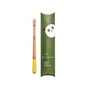 Tiny Toothbrush - Sunshine Yellow - Soft Caster Oil Bristles