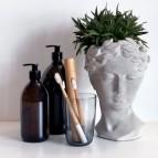 Truthbrush - Medium Castor Oil Bristles - in Use