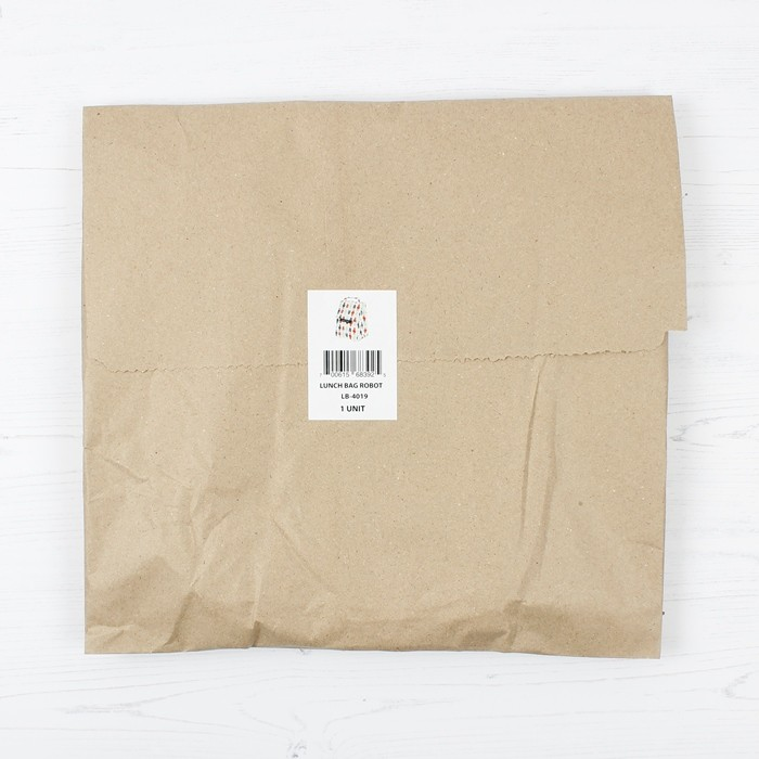 Insulated Lunch Bag - in paper bag packaging