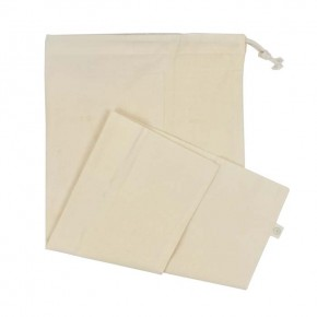 Organic Cotton Produce Bag - X-Large (43 x 50cm)