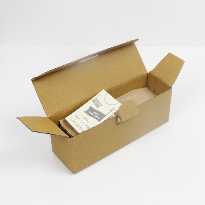 Stainless Steel Spork - Bulk - in packaging (open)