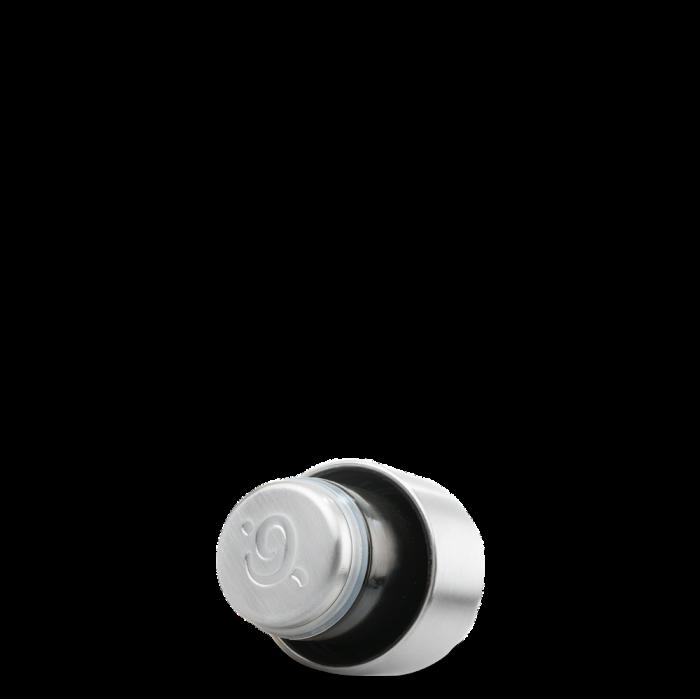 Insulated Stainless Steel Bottle - Granite Midnight Blue - 260ml - lid