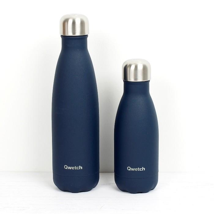 Insulated Stainless Steel Bottle - Granite Midnight Blue - 260ml & 500ml