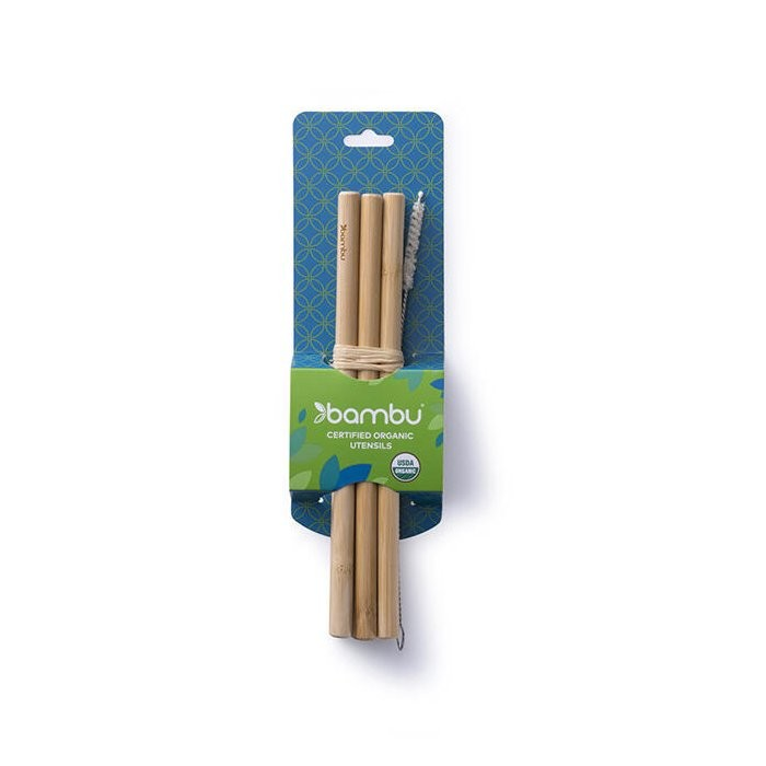 Precision Bamboo Straws  - in packaging