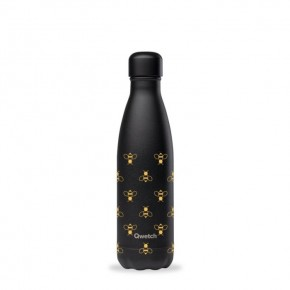 Insulated Stainless Steel Bottle - All Black Bee - 500ml