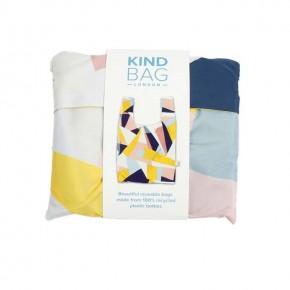 Reusable Shopping Bag - Mosaic - In Packaging
