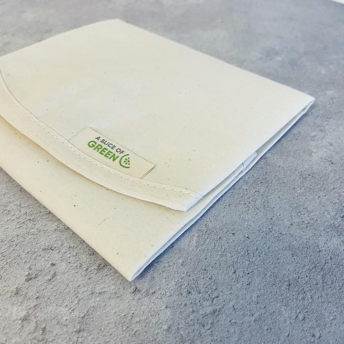 Organic Cotton Sandwich/Food Wrap - Natural