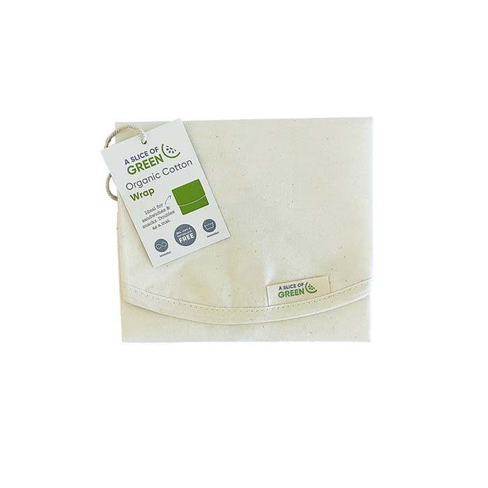 Organic Cotton Sandwich/Food Wrap - Natural - with Swing Tag