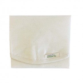 Organic Cotton Sandwich/Food Wrap - Natural