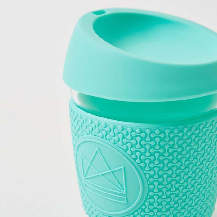 Glass Cup - Free Spirit - Mint - 12oz/340ml