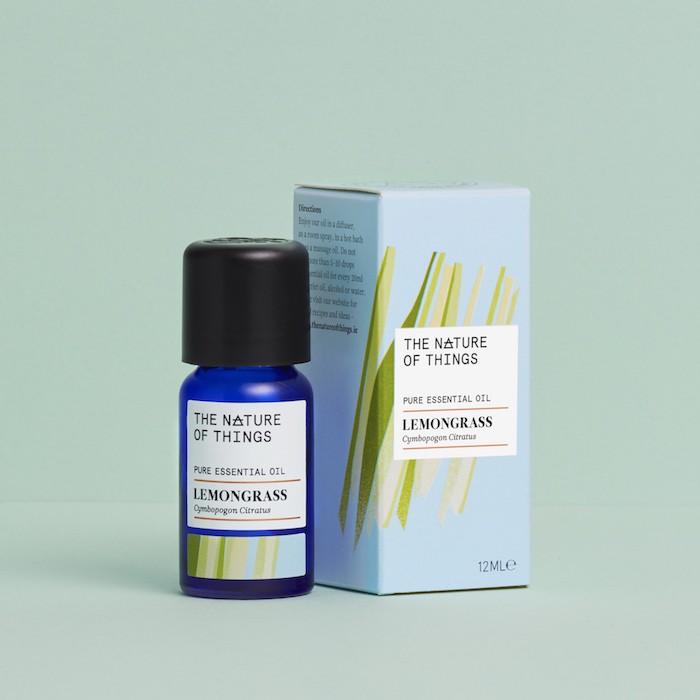 Lemongrass Essential Oil - 12ml - On Green