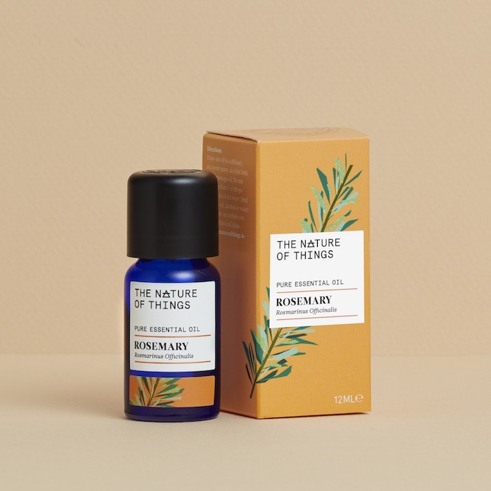 Rosemary Essential Oil - Organic - 12ml - On Orange
