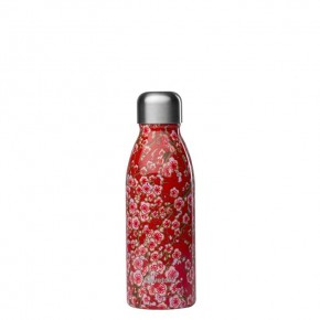 Stainless Steel ONE Bottle - Flowers Red - 500ml