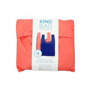 Reusable Shopping Bag - Bicolour Peach & Blue