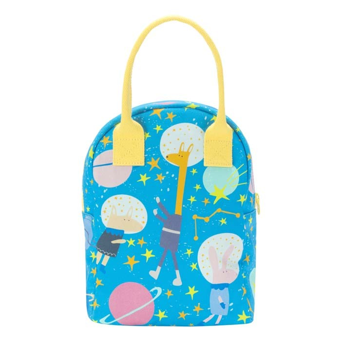 Zipper Lunch Bag - Astro Party