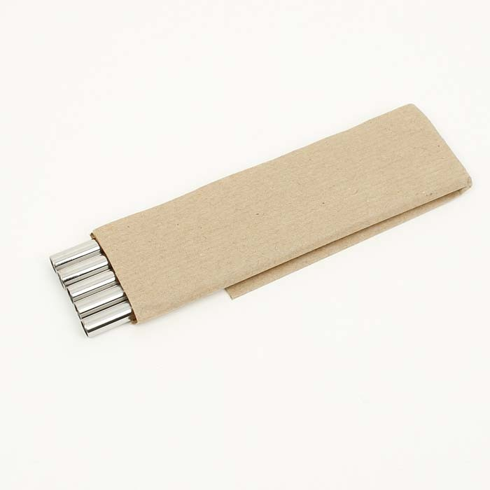 Stainless Steel Short Straws - Bulk