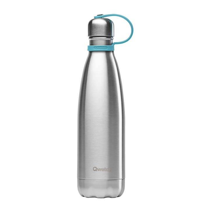 Bottle Lid with Silicone Strap – 260/500ml Bottle – Turquoise